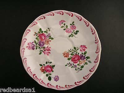 China Replacement Royal Crown Derby Floral Vintage Saucer England c1940s 839892