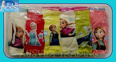 BNIP undies Disney Frozen knickers 6 pack girls Briefs underwear panties cotton