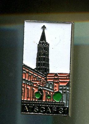 Rare Pins Pin's .. Avion Plane Airlines Air France Atscaf Eglise Toulouse 31 ~Cw