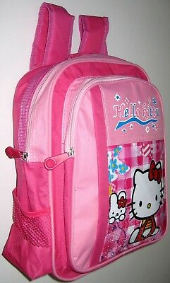 BNWT Brand new Hello Kitty Medium Bag Preschool Daycare Girls Backpack