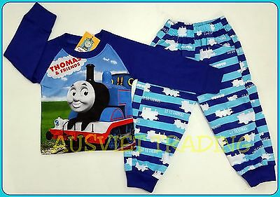 BNWT Thomas The Tank boys Pyjamas 100 % cotton tshirt top t-shirt pants new
