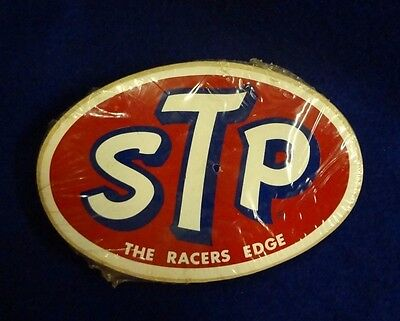 Vintage- Stp The Racer's Edge - Sealed Pack Of Stickers
