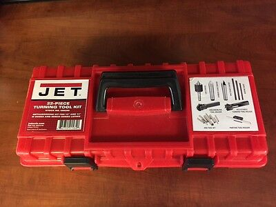 "NEW JET 660200 22 Piece Turning Tool Kit for 13"" and 14"" Lathes"