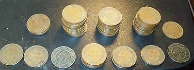 lot of 70 Australia One Penny Coins 1912 - 1935