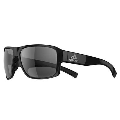Adidas 2016 AD20 Jaysor Sunglasses - Black Shiny - Grey Lenses