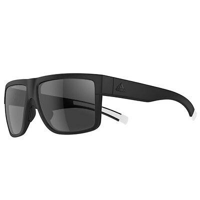 Adidas 2016 3Matic Sunglasses - Black Matt - Grey Lenses