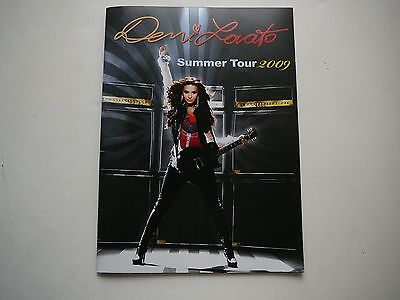 Demi Lovato Large Summer Tour 2009 Tour Book