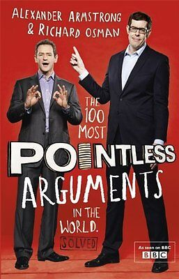 (Very Good)-The 100 Most Pointless Arguments in the World (Hardcover)-Osman, Ric