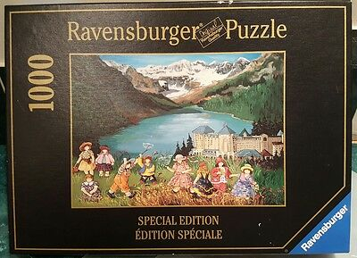 Lake Louise By Pauline Paquin  Ravensburger 1000 Pcs Special Edition Puzzle