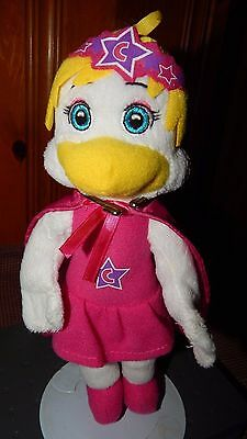 """2014 Chuck E Cheese Helen Henny 10"""" Girl Doll Plush Stuffed Animal Toy In Pink"""