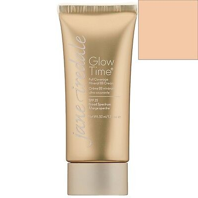 Jane Iredale Glow Time Full Coverage Mineral BB Cream Broad Spectrum SPF25 BB3 L