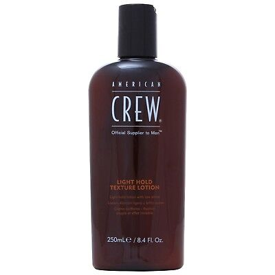 NEW American Crew 250ml Classic Light Hold Texture Lotion