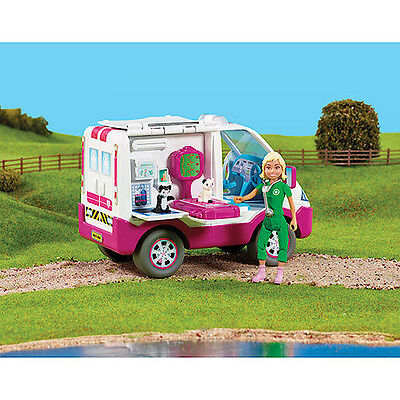 Animagic Rescue Hospital Mobile Care Centre Van With Vet And Pets Brand New