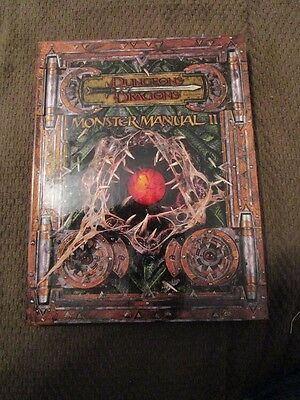 Monster Manual II ~ Dungeons & Dragons 3/3.5 Edition ~ Wizards Of The Coast
