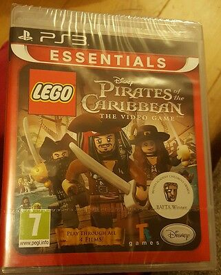LEGO Pirates Of The Caribbean Game PS3 Brand New