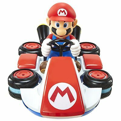 Mario Remote Control Car Mini RC Racer Vehicle Nintendo Super Mario