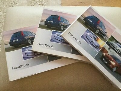 Peugeot 206 Owners Handbook 2006 / 2007 New Old Stock