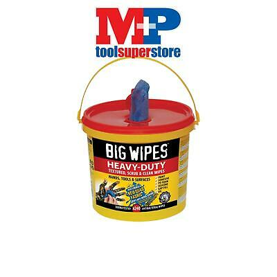Big Wipes 2427 4x4 Heavy-Duty Cleaning Wipes Bucket of 240