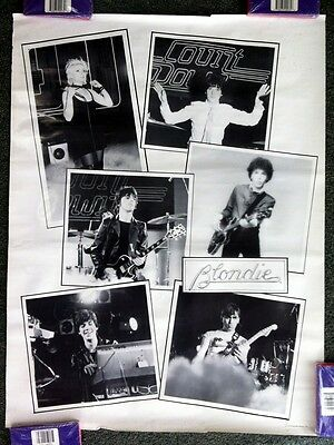 1979 *blondie* Collage Music Poster 19X29""
