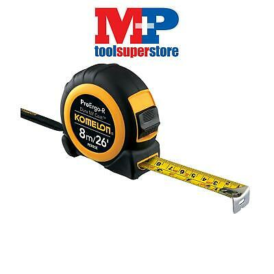 Komelon PER826E Superior ProErgo-R Pocket Tape 8m/26ft (Width 25mm)