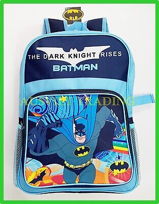 BNWT LARGE brand new Batman Bag boys preschool Backpack