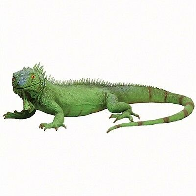 Realistic Life Size Green Iguana Lizard Reptile Latex School Halloween Prop Toy
