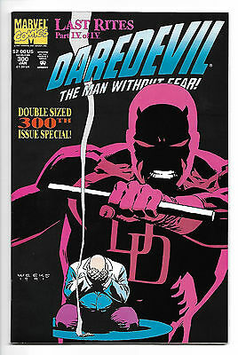 Daredevil #300 Netflix 1991 Double Sized Issue Kingpin