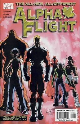 Alpha Flight (2004 3rd Series) #1A VF