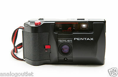 Pentax  PC35 AF-M 35mm Film Camera + Film!