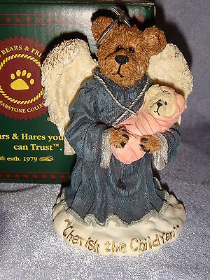 Boyds Bears - 228343 -MIB- CHARITY ANGELHUG AND EVERYCHILD..CHERISH THE CHILDREN