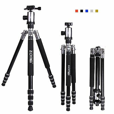 ZOMEI Z818 Professional Tripod Monopod&Ball Head Portable for Canon DSLR Camera