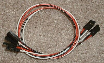 2 EMG Quick Connect Cable SOLDERLESS Wire for ACTIVE EMG Pickup -81 85 **NEW**