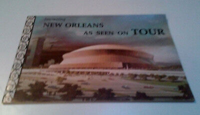 1975 Fascinating New Orleans Louisiana As Seen On Tour Booklet With Recipes
