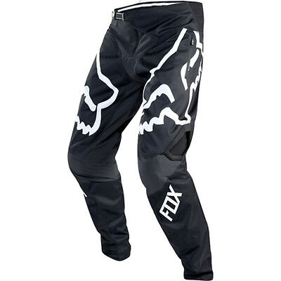 Fox Mtb Demo Dh Mens Pants Bike - Black White All Sizes