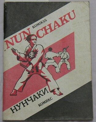 Russian Book Fencing Ninja Hand-to-hand Fight Wrestling Karate Fight Nun Chaku