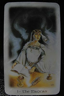 1-The Magician  The Celtic Dragon Tarot Single Replacement Card Excellent