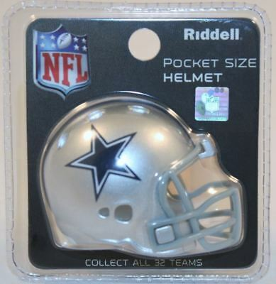 NFL American Football Riddell Pocket Revolution Helmet DALLAS COWBOYS