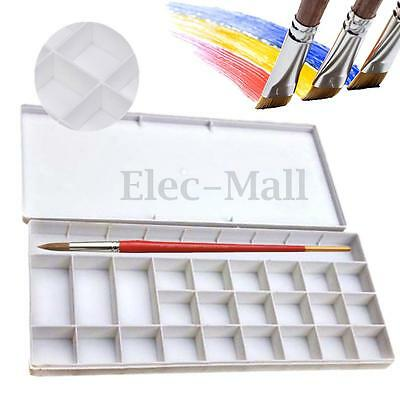 25 Alternatives Paint Tray Artist Oil Watercolor Plastic Palette Case Supply