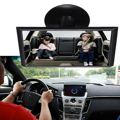 Universal 360° Adjustable Car Truck Blind Spot Rear View Mirror Suction Mount