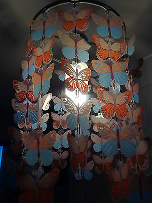 Butterfly lampshade - hanging - girls
