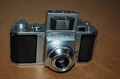 Asahiflex Vintage Japanese SLR Camera & Takumar 3.5/50 Lens. 34524. UK Sale