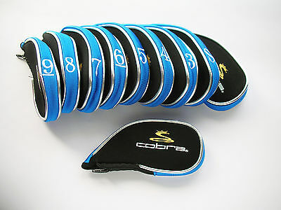 Cobra Golf Iron Covers For Complete Protection Black And Blue