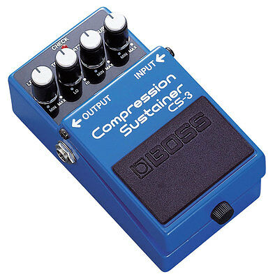 Boss CS-3 Compression Sustainer Guitar Pedal (NEW)