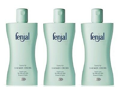3X Fenjal Classic Luxury Shower Creme 200ml