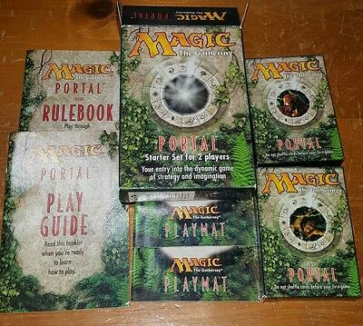 Magic The Gathering Portal Starter Set For 2 Players - Card Game - Complete