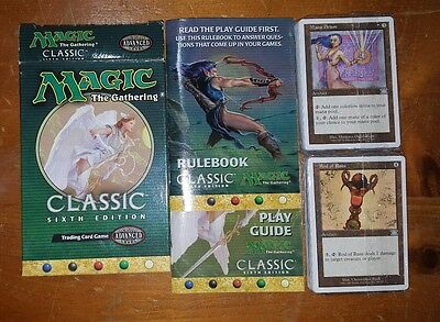 Magic The Gathering Classic Advanced Level Card Game 6Th Edition - Complete