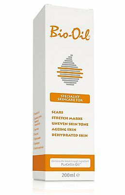 2x BIO-OIL FOR SCARS STRETCH MARKS DRY BLEMISHED SKIN 200ml Bio Oil twin pack