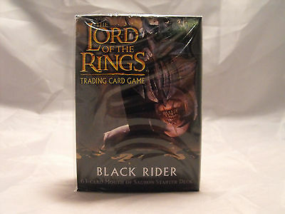 Lord Of The Rings Tcg Schwarz Rider Versiegelt Mouth Of Sauron Starter Deck