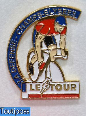 Pins Cyclisme Velo Le Tour De France La Defense Champs Elysees Paris