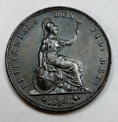 1834 Farthing.William IV in Excellent Condition UNC. (See Pics)
